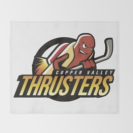 Copper Valley Thrusters Throw Blanket