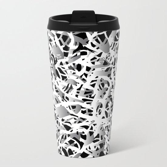 deep structure Metal Travel Mug