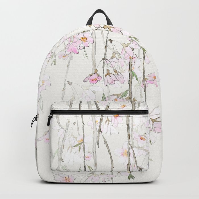 pink cherry blossom Backpack
