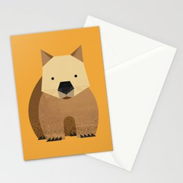 Whimsy Wombat Stationery Cards