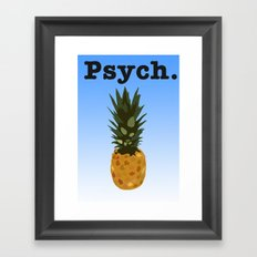 Psych Framed Art Print