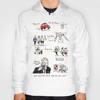 shaun of the dead Hoodies featuring Shaun of the Dead by Rob O'Connor
