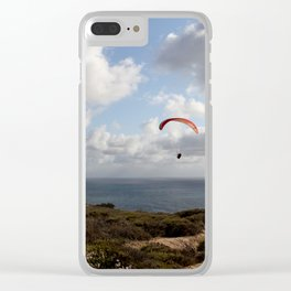 Glider port Clear iPhone Case