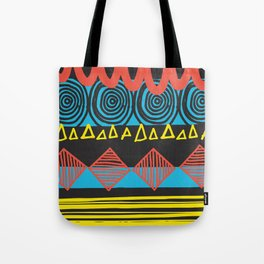 Parallel Shapes Tote Bag