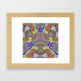 Magical Mystery Tapestry Print Framed Art Print