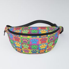 Pop Art Paws Fanny Pack