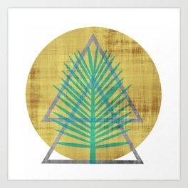 Tree to the Moon Art Print