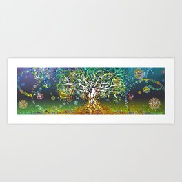 Song of Mother Hale Art Print