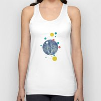 planets Tank Tops featuring Planets by Tamsin Lucie
