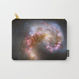 Galaxy tornado nebula bright stars constellation cluster swirl hipster star Nasa space photograph Carry-All Pouch