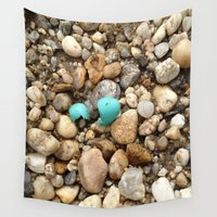 egg Wall Tapestries featuring Egg by Mylittleradical