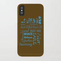 ravenclaw iPhone & iPod Cases featuring Ravenclaw by husavendaczek