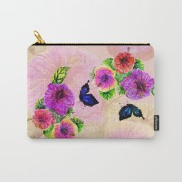 Painting of hibiscus Carry-All Pouch