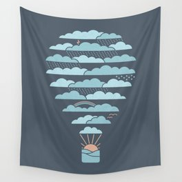 Weather Balloon Wall Tapestry