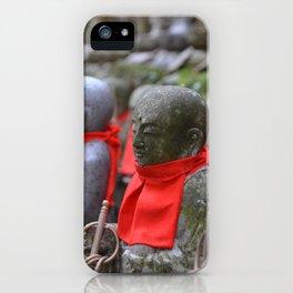 Little Japanese Jizo iPhone Case