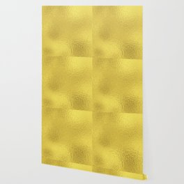 Simply Metallic in Yellow Gold Wallpaper