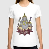 ganesh T-shirts featuring Ganesh by Street But Elegant