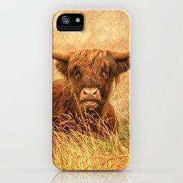 Happy Highlander iPhone Case