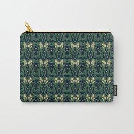 Walter Crane Lilies Victorian Wallpaper Carry-All Pouch