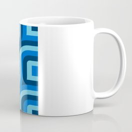 Blue Truchet Pattern Coffee Mug