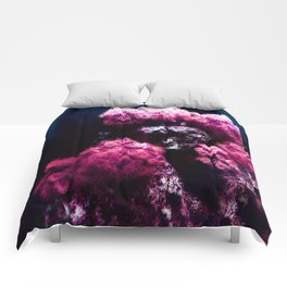 The Sea Anemone Floral Bouquet Comforters