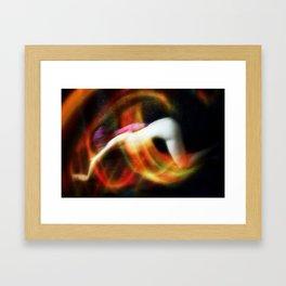 Cozmogonizm Series #39, Color Film, Analog, Art Photo, NUDE Framed Art Print