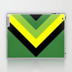 V-lines Green style Laptop & iPad Skin
