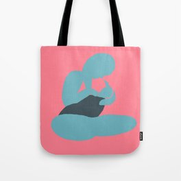 Mother and Child (Brights after Matisse) Tote Bag