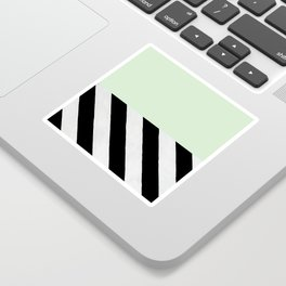 PARALLEL_LINES_GREEN_MINT Sticker