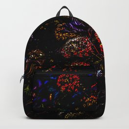 Floral Fireworks Backpack