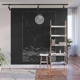 The Moon Tarot Card Wall Mural