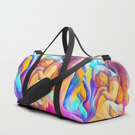 Never Drive Faster Duffle Bag