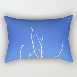 DEAD TREE UNDER POWER LINES Rectangular Pillow