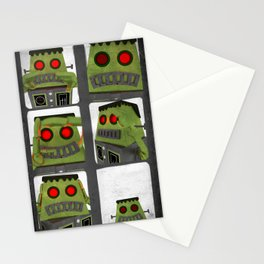 Frank photobooth Stationery Cards