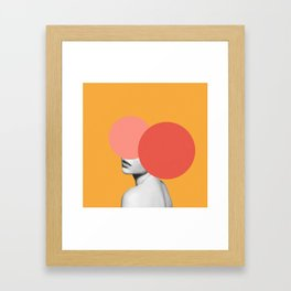 The Hidden Face Framed Art Print