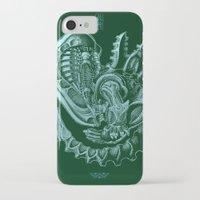 xenomorph iPhone & iPod Cases featuring Xenomorph by Jordan Lewerissa