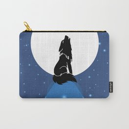 Howling Wild Wold Carry-All Pouch