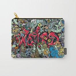 Doodle Weird (Hidden Doodles) Carry-All Pouch