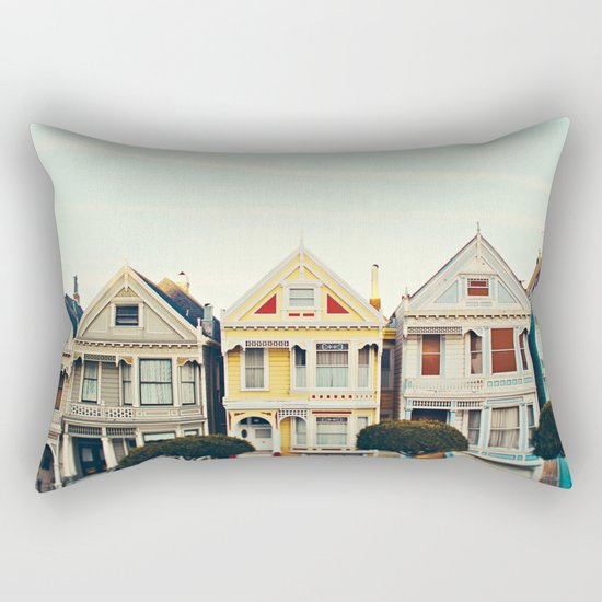 Painted Ladies Rectangular Pillow