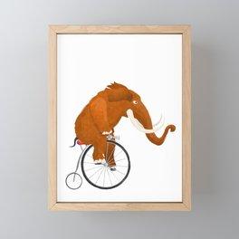 Late mammoth Framed Mini Art Print