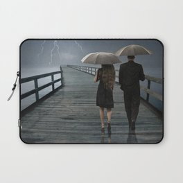 Weathering the Storm Together Laptop Sleeve