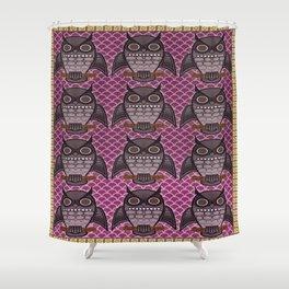Owls for Owls sake Shower Curtain