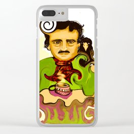 Tea with Poe Clear iPhone Case
