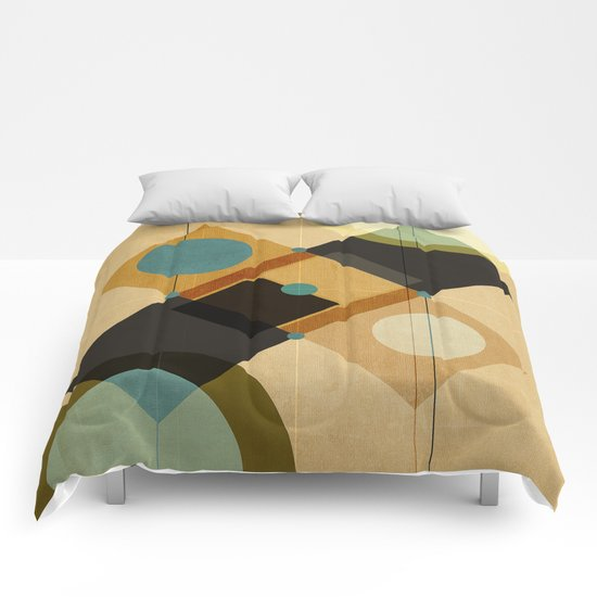 Geometric/Abstract 3 Comforters