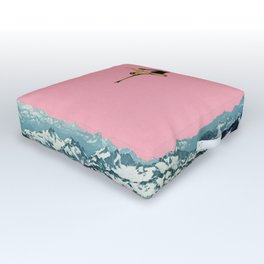 Higher Than Mountains Outdoor Floor Cushion