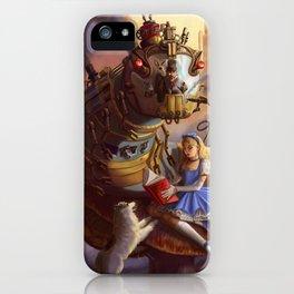 Sandra's Steampunk Alice in Wonderland iPhone Case