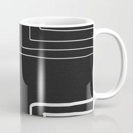 White Pattern Coffee Mug
