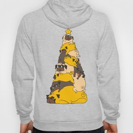 Christmas Tree Pugs Hoody