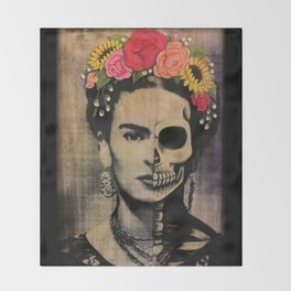 Frida Throw Blanket