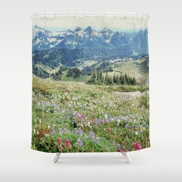 Wildflower Meadow Shower Curtain